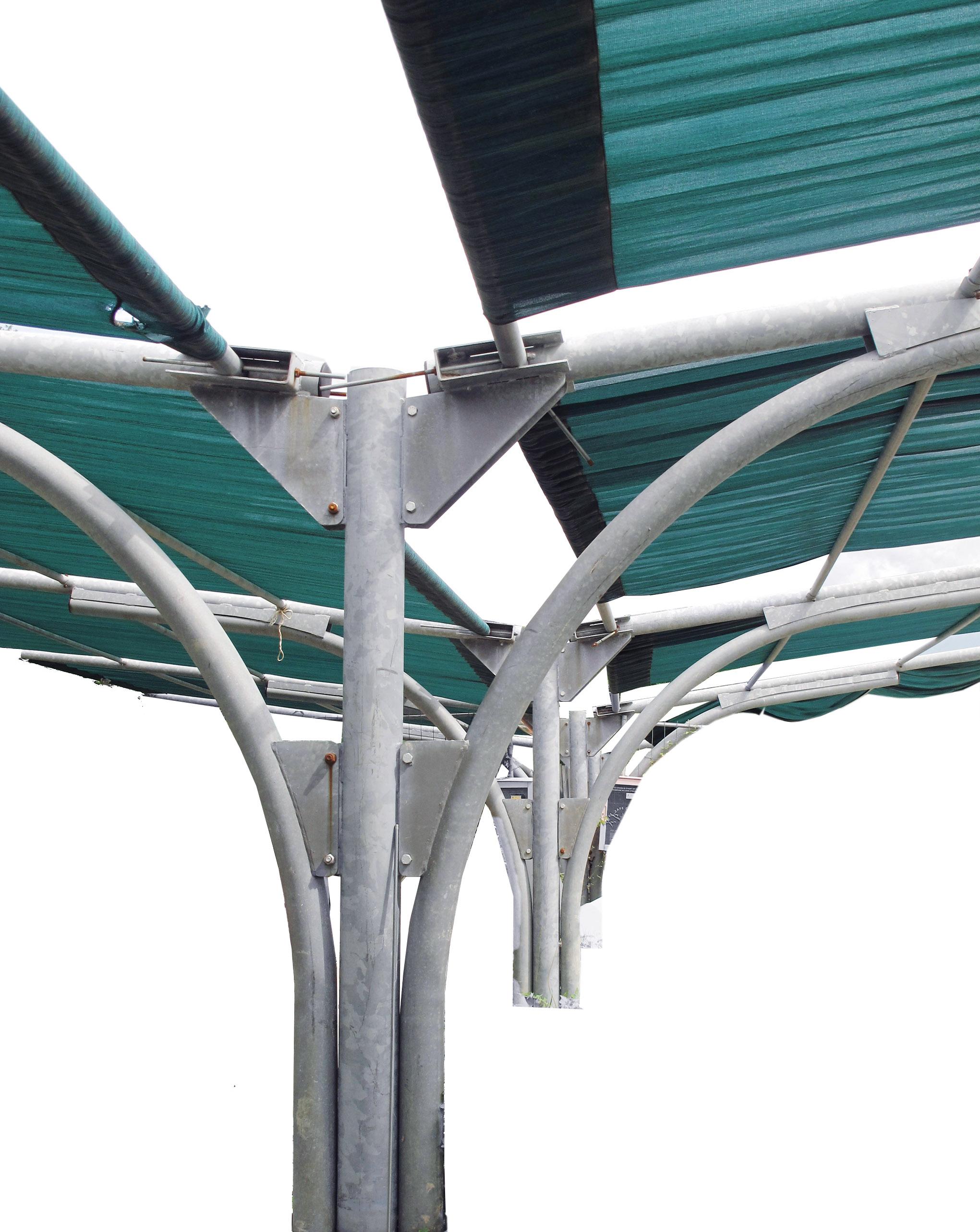 Tettoia per parcheggio usata